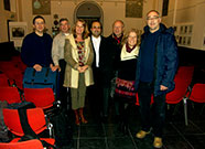 After a memorable concert of Volodymyr Kurylenko and Rauf Berman in Meersen, Synagogue on the 27th of November 2011